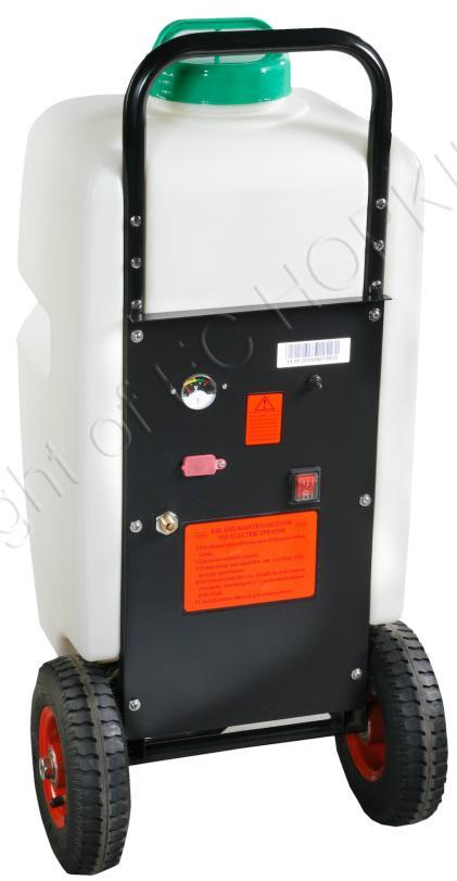 Wasserdruckbehälter Kunststoff Akku/Elektrisch auf Räder 35 [l]