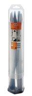 Meissel-SET, SDS+, 250 mm, 4-teilig, 1 Spitzmeissel, 2 Flachmeissel 20 mm, 1 Spatmeissel 40 mm
