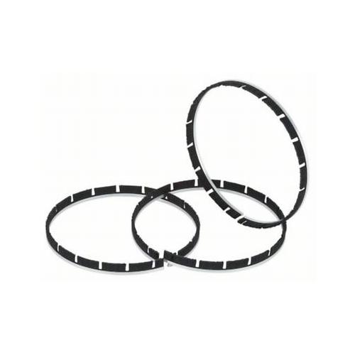 3 Ersatzbürstenbänder zu Bosch Betonschleifer