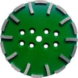 Dia-Schleifteller Super Premium Green, Ø250 mm, harte Bindung => weiche Böden, M12