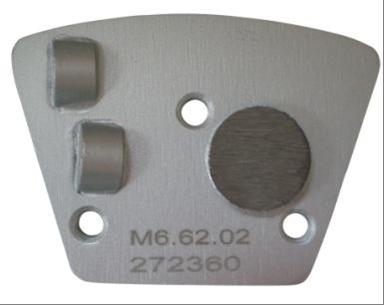 Dia-Schleifsegment PKD Silver Craft Super Premium, 2 PKD, 1 Stützsegment rund M6 [LINKSLAUF]
