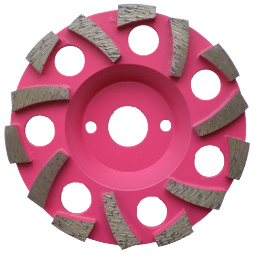Dia-Topfscheibe Super Premium Pinky Spezial
