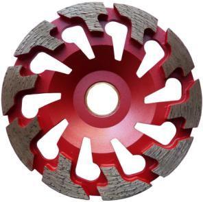 Dia-Topfscheibe Premium Abrasiv zu Protool / Achtung: InnenlochØ: 25 mm