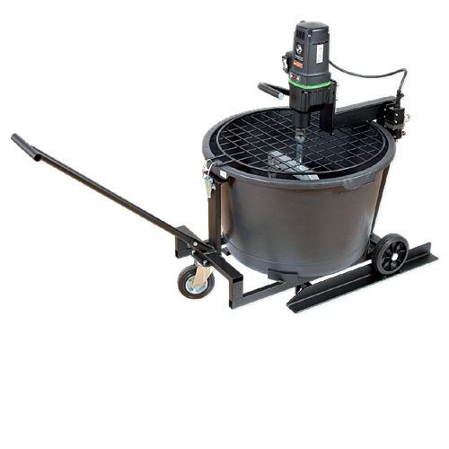 Rührstation Eibenstock, Automix 90, [1500W], inkl. Rührpaddel und Mischkübel [90l], geeignet bis 80kg