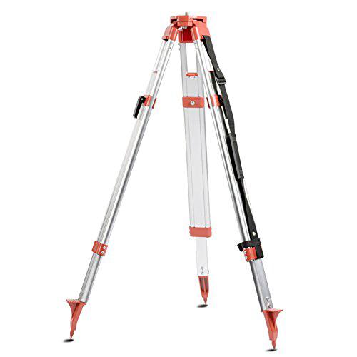 Bau - Stativ, EIGERLEVEL, 90-160cm, aus Aluminium, ausziehbare Beine