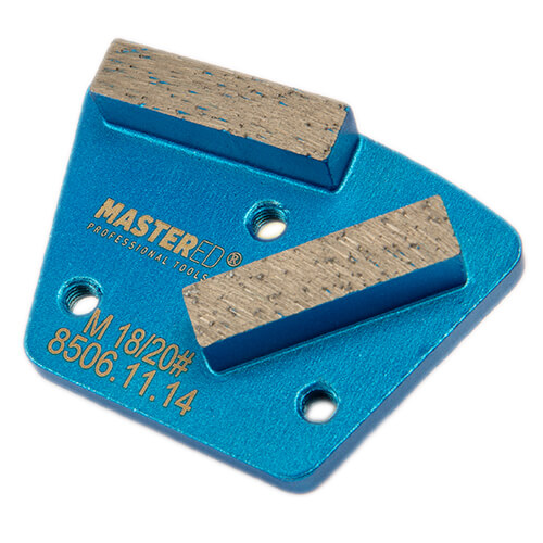 Dia-Schleifsegment Light Blue Tiger Super Premium M6 #16/20