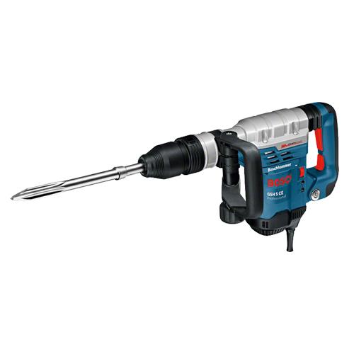 Bosch Spitzhammer GSH 5 CE / SDS-max / [6.2Kg/8.3J] / 1150W / inkl. Koffer