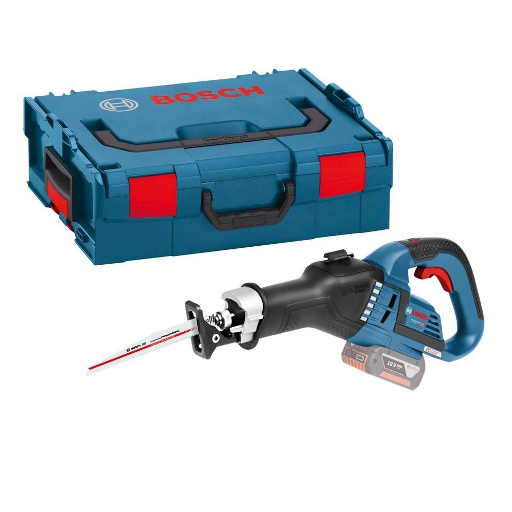 Bosch Akku-Sabelsäge GSA 18V-LI / inkl. L-Boxx [18V OHNE AKKU] clic&go