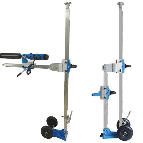 Kernbohrständer KPSED-300 SPEZIAL / Spannhöhe: 2100 - 3500mm / max. BohrØ: 300mm / Gewicht: 55kg