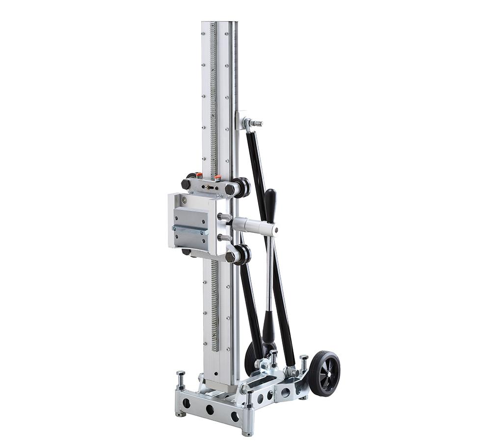 Kernbohrständer AGP S500 / Bohrbereich bis Ø500mm mit zusätzlicher Distanzplatte ansonsten bis Ø350mm / 2 Getriebe / 19kg