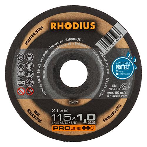 Korrund-Trennscheibe Rodius Stahl Premium