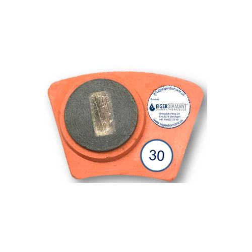 Dia-Schleifsegment Hyper Stingray Super Premium Spezial