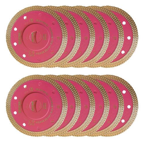 Dia-Trennscheiben-SET Pinky Speed Super Premium 10 Stk. [Weihnachtsaktion Nr. 19]