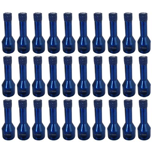 Dia-Trockenbohrkronen-SET Blue Drill Ø6 mm 30 Stk. [Weihnachtsaktion Nr. 15]