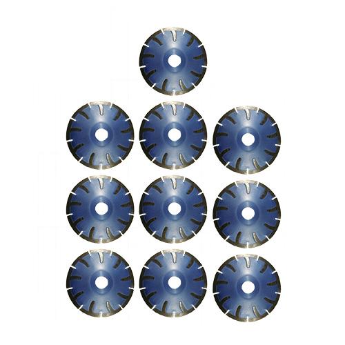 Dia-Kurvenscheiben-SET Premium Beton/Granit Ø125mm 10 Stk. [Weihnachtsaktion Nr. 12]