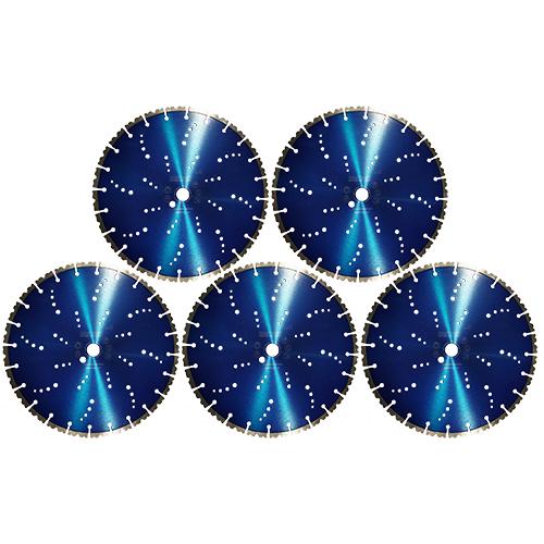 Dia-Trennscheiben-SET Blue Wave Ø350x25 mm 5 Stk. [Weihnachtsaktion Nr. 9]