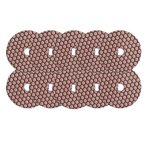 Dia-Schleifpads-SET Trocken Korn 400 10 Stk. [Weihnachtsaktion Nr. 7]