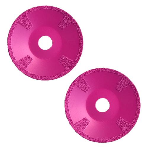 Dia-Kurvenscheibe-SET Pinky Ceramic Ø115mm 2 Stk. [Frühlingsaktion]