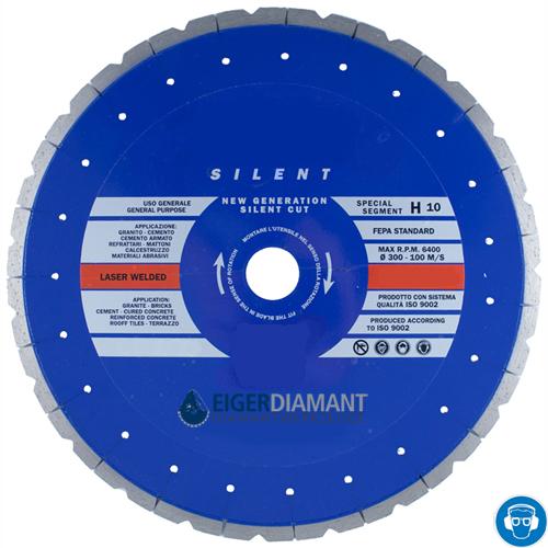 Dia-Trennscheibe Granit Super Premium SILENT Ø300mm [Frühlingsaktion]