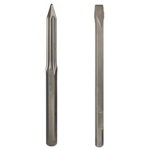 Meissel Sechskant [Hex 28mm] passend zu Bosch Spitzhammer GSH 27 VC
