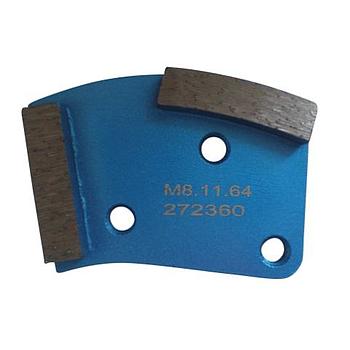 Dia-Schleifsegment Blue Pearl Super Premium weiche Bindung => harte Böden, M8 #40