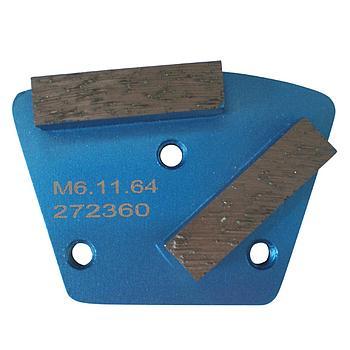 Dia-Schleifsegment Blue Tiger Super Premium M6 #40