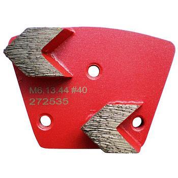 Dia-Schleifsegment Red Shark Super Premium M6 #40
