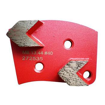 Dia-Schleifsegment Red Shark Super Premium mittelharte Bindung M8 #40