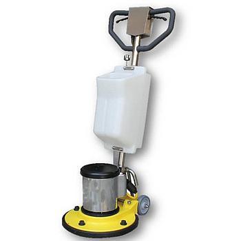 Einscheiben Maschine EIGERFLOOR ED420,  Ø420mm, 230V, 2PS, 175U/min, Inkl. Wassertank, nass + trocken einsetzbar
