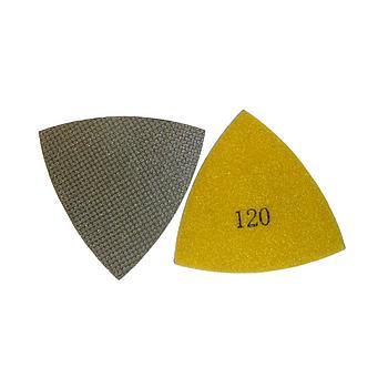 Dia - Polier - Dreieck [Trapez] mit Klettverschluss zu Fein/Bosch Oszillierer
