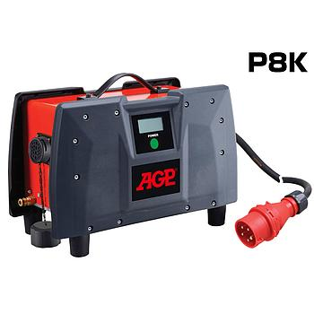 Hochfrequenz Agregat [Frequenzumrichter] AGP P8K / max. Aufnahme: 400V/8000W / 230V/7000W / Gewicht: 7.3kg / Wassergekühlt