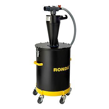 Vorabscheider Ronda, 502CF, Spezial mit Zyklon-Aufbau, 50l Fassungsvermögen, 980 x 435, 12kg, Passend zu Ronda Sauger