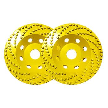 2 Stk. Dia-Topfscheiben Yellow PinSpeed Super Premium [Weihnachtsaktion Nr. 18]
