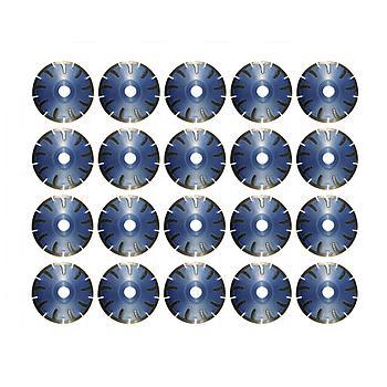 Dia-Kurvenscheiben-SET Premium Beton/Granit Ø125mm 20 Stk. [Weihnachtsaktion Nr. 12]