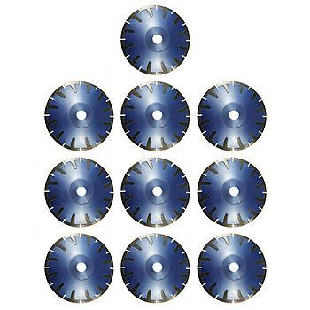 Dia-Kurvenscheiben-SET Premium Beton/Granit Ø180 mm 10 Stk. [Weihnachtsaktion Nr. 12]