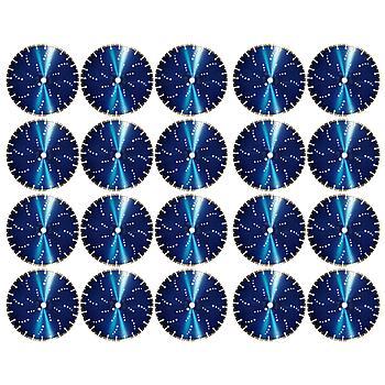 Dia-Trennscheiben-SET Blue x25 mm 20 Stk. [Weihnachtsaktion Nr. 9]Wave Ø350