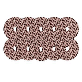 Dia-Schleifpads-SET Trocken Korn 50 10 Stk. [Weihnachtsaktion Nr. 7]